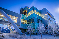 UAA's Health Sciences Building on a frosty January morning.