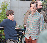 September 24, 2021.Winslow Fegley, Scoot McNairy filming on location for  Sony pictures Lyle Lyle Crocodile<br />   in New York September 24, 2021 Credit:RW/MediaPunch