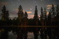 Victor, MT - stars at night