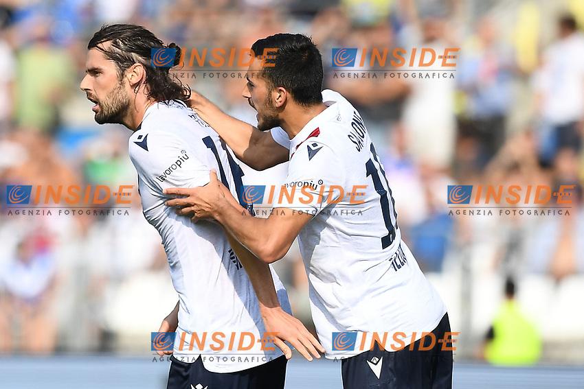 Celebration after a goal of Andrea Poli <br /> Brescia 15/09/2019 Stadio Mario Rigamonti <br /> Football Serie A 2019/2020 <br /> Brescia Calcio - Bologna FC <br /> Photo Image Sport / Insidefoto