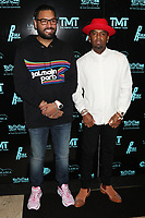 MIAMI, FL - FEBRUARY 19: Jas Mathur & P-Reala attend Floyd Mayweather's 44th futuristic Birthday Party at Casablanca on the Bay on February 19, 2021 in Miami, Florida. Photo Credit: Walik Goshorn/Mediapunch