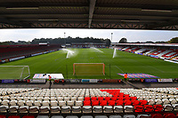 General view of the Lamex Stadium during Stevenage vs Exeter City, Sky Bet EFL League 2 Football at the Lamex Stadium on 9th October 2021