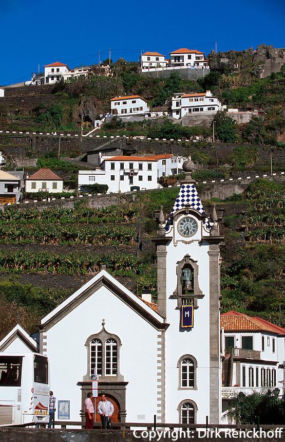 Portugal, Madeira, Kirche Sao Bento in Ribeira Brava