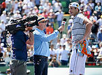 March 30 2018: John Isner (USA) defeats Juan Martin del Potro (ARG) by 6-1, 7-6 (2), at the Miami Open being played at Crandon Park Tennis Center in Miami, Key Biscayne, Florida. ©Karla Kinne/Tennisclix/CSM