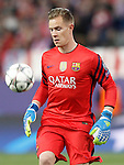 FC Barcelona's Marc-Andre Ter Stegen during Champions League 2015/2016 Quarter-Finals 2nd leg match. April 13,2016. (ALTERPHOTOS/Acero)