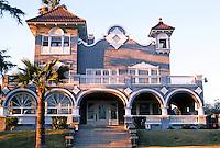 Los Angeles: Powers House, 1345 Alvarado Terrace. Mission Revival Architect A.L.Haley, 1902.