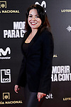 Ana Arias attends to 'Morir para contar' film premiere during the Madrid Premiere Week at Callao City Lights cinema in Madrid, Spain. November 13, 2018. (ALTERPHOTOS/A. Perez Meca)