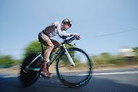 Christophe Riblon (FRA)<br /> <br /> Tour de France 2013<br /> stage 11: iTT Avranches - Mont Saint-Michel <br /> 33km