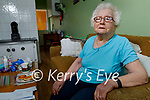 Betty Moody at home in  Moyvane after getting her Covid-19 vaccine on Tuesday.