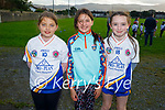Members of Tralee Parnells taking part in their run4pieta fundraiser in Caherslea on Friday. L to r: Laura Harris, Adriana Araiza and Alexis O'Brien.