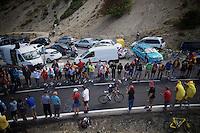 Vincente Reynes (ESP/IAM)<br /> <br /> stage 20: San Lorenzo de el Escorial - Cercedilla (176km)<br /> 2015 Vuelta à Espana