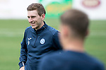 FK Trakai v St Johnstone…05.07.17… Europa League 1st Qualifying Round 2nd Leg<br />St Johnstone training at the LFF Stadium in Vilnius, Lithuania pictured Blair Alston during the session<br />Picture by Graeme Hart.<br />Copyright Perthshire Picture Agency<br />Tel: 01738 623350  Mobile: 07990 594431