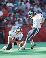 Lance Chomyc Toronto Argonauts kicker. Photo Scott Grant.