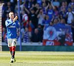 12.05.2019 Rangers v Celtic: Ryan Kent says goodbye to Ibrox