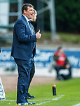 St Johnstone v St Mirren…27.10.18…   McDiarmid Park    SPFL<br />Tommy Wright gives the thumbs up after David Wotherspoon scored<br />Picture by Graeme Hart. <br />Copyright Perthshire Picture Agency<br />Tel: 01738 623350  Mobile: 07990 594431
