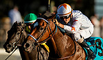 SEPTEMBER 06 2021: Tiz The Bomb with Brian Hernandez wins the KentuckyJuvenile Mile at Kentucky Downs in Franklin, Kentucky on September 06, 2021. Evers/Eclipse Sportswire/CSM