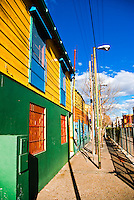 Colourful house of La Boca, Buenos Aires