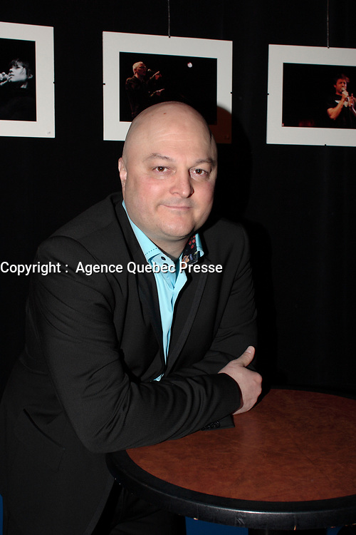 Montreal (Qc) CANADA - January 30, 2008 -<br /> <br /> Launch of ZAPPE TA VIE, first music album by Michel Brule, better known as a provocative book publisher here in Quebec.<br /> <br /> Photo (c)  Images Distribution