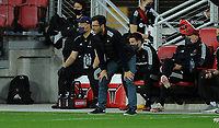 WASHINGTON, DC - MAY 13: Rafael Wicky Chicago Fire FC looking at the play during a game between Chicago Fire FC and D.C. United at Audi FIeld on May 13, 2021 in Washington, DC.