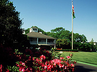 4th April 1999, Augusta GA, USA; The Augusta clubhouse