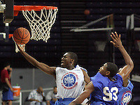 PG Kemba Walker (New York, NY / Rice) shoots the ball during the NBA Top 100 Camp held Saturday June 23, 2007 at the John Paul Jones arena in Charlottesville, Va. (Photo/Andrew Shurtleff)