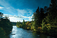 The River Dee from Balmoral, Aberdeenshire