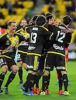 151113 A-League Football - Wellington Phoenix v Adelaide United