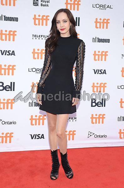 "09 September 2017 - Toronto, Ontario Canada - Ksenia Solo. 2017 Toronto International Film Festival - ""Suburbicon"" Premiere held at Princess of Wales Theatre. Photo Credit: Brent Perniac/AdMedia"