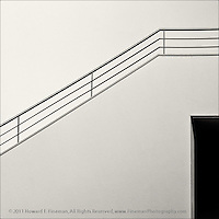 """Architectural Elements, Kulturforum, Berlin. Most recent award was Honorable Mention in the Danforth Museum 2012 juried """"Off The Wall"""" exhibit. Previously selected for juried show """"Monochrome & Minimalism."""""""