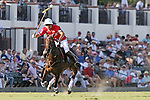 WELLINGTON, FL - FEBRUARY 19: Julian de Lusarreta of Coca Cola controls the ball down the field. Coca Cola 9 defeats Tonkawa 8 in overtime with a Golden Goal on a Penalty 2 by Julio Arellano, in the William Ylvisaker Cup Final, at the International Polo Club, Palm Beach on February 19, 2017 in Wellington, Florida. (Photo by Liz Lamont/Eclipse Sportswire/Getty Images)