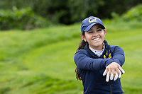 STANFORD, CA - APRIL 24: Christina Ochoa at Stanford Golf Course on April 24, 2021 in Stanford, California.