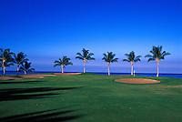 Waikoloa Beach course, No. 12, Big Island, Hawaii.  Architect: Robert Trent Jones II