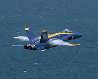 FORT LAUDERDALE, FL - MAY 05: US Navy Blue Angels performs in the Fort Lauderdale Air Show on May 5, 2019 in Fort Lauderdale, Florida<br /> <br /> <br /> People:  US Navy Blue Angels