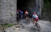 José Gonçalves (POR/Katusha-Alpecin) entering a tunnel<br /> <br /> Stage 7: Saint-Genix-les-Villages to Pipay  (133km)<br /> 71st Critérium du Dauphiné 2019 (2.UWT)<br /> <br /> ©kramon