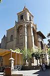 Viana.Navarra.Espana.Viana.Navarra.Spain.Iglesia de Santa Maria vista desde la Plaza de los fueros..Church of Santa Maria seen from the Los fueros square..(ALTERPHOTOS/Alfaqui/Acero)