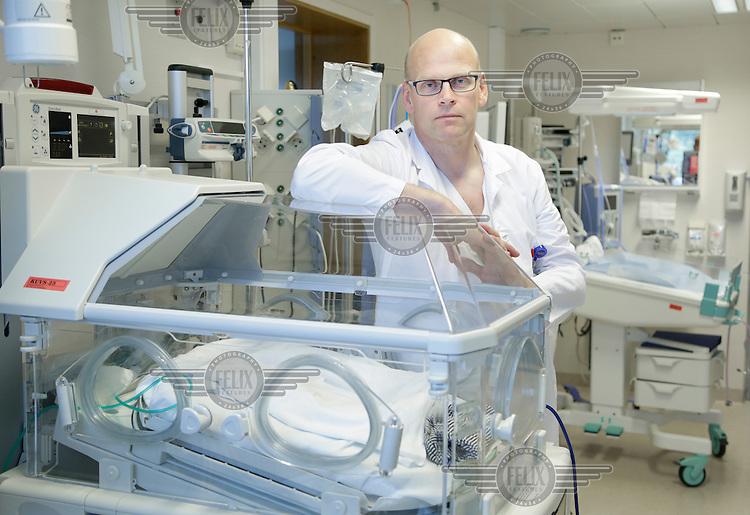 Anesthesiologist Björn Gunnarsson, Lillehammer hospital