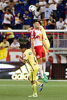 Harrison, NJ - Wednesday July 06, 2016: Brandon Allen during a friendly match between the New York Red Bulls and Club America at Red Bull Arena.
