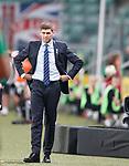 22.08.2019 Legia Warsaw v Rangers: Steven Gerrard