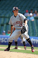 Carson Baranik (19) during the 2010 Under Armour All-American Game powered by Baseball Factory at Wrigley Field in Chicago, New York;  August 14, 2010.  Photo By Mike Janes/Four Seam Images