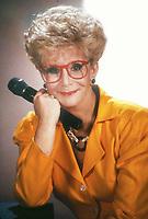 Sally Jessie Raphael 1989<br /> Photo by Adam Scull/PHOTOlink
