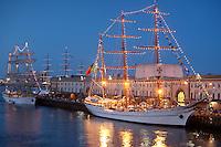 Mircea & Sagres, Tall Ships, Boston Harbor, Boston, MA Seaport