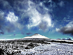 Snow on the Sugar Loaf Co Wicklow