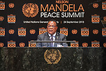 Opening Plenary Meeting of the Nelson Mandela Peace Summit<br /> <br /> Tanzania