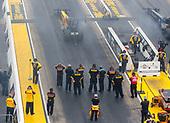 Richie Crampton, DHL, top fuel, crew