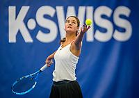 Amstelveen, Netherlands, 18  December, 2020, National Tennis Center, NTC, NK Indoor, National  Indoor Tennis Championships,   :   Merel Hoedt (NED) <br /> Photo: Henk Koster/tennisimages.com