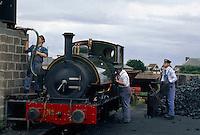 Großbritannien, Wales, Tywyn, Tallylyn-Eisenbahn