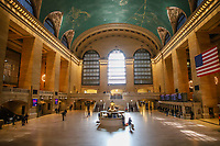 NOVA YORK, EUA, 24.03.2020 - CORONAVIRUS-EUA - Movimentação na Grand Central Terminal em Manhattan durante a Pandemia de Coronavirus COVID-19 em Nova York nos Estados Unidos. (Foto: Vanessa Carvalho/Brazil Photo Press)