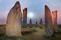 SC - OUTER HEBRIDES - ISLAND of LEWIS<br /> Unesco World Heritage CALLANISH Standing Stones <br /> <br /> Full size: 69,2 MB