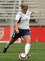 Cat Reddick.US Women's National Team vs Brazil at Legion Field in Birmingham, Alabama.
