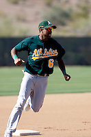 Chris Berroa - Oakland Athletics - 2009 spring training.Photo by:  Bill Mitchell/Four Seam Images